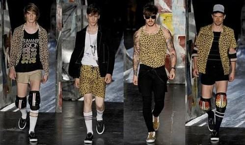 foto estampa animal print masculina