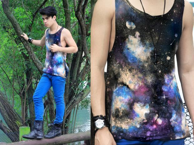 regata galaxy print
