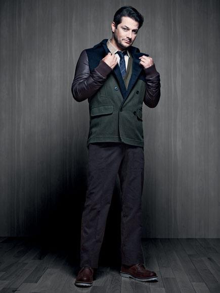 casaco estilo militar masculino jaqueta