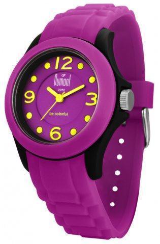 relógio colorido dumont sv45098a