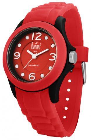 relógio colorido dumont sv45105v