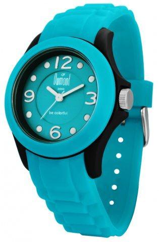 relógio colorido dumont sv45123z