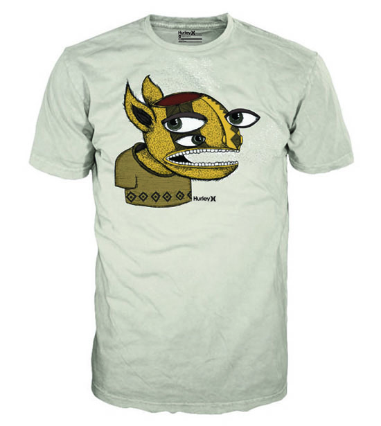 camiseta hurley space guilherme gui