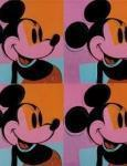 obras andy warhol pop art mickey