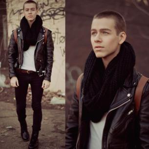 cachecol masculino modos de usar jaqueta