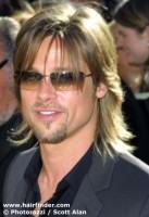 Brad Pitt 5 melhores cortes de cabelo de famosos