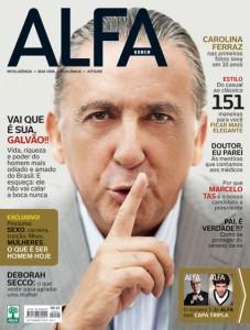 imagem revista masculina alfa