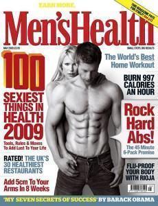 imagem revista masculina mens health