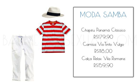 imagem chapéu panama samba