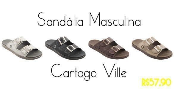 imagem sandália cartago ville