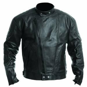 jaqueta de couro para motociclista