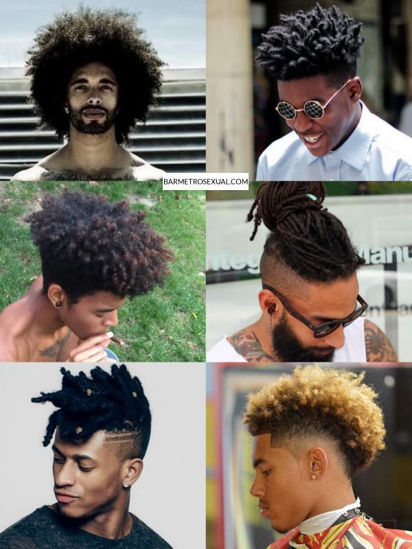 cabelo-afro-masculino-penteados