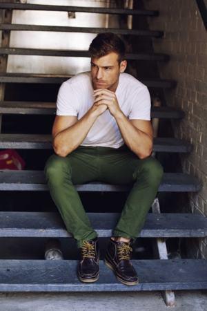 calça verde colorida