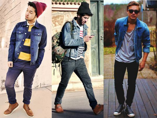jaqueta jeans com calça jeans