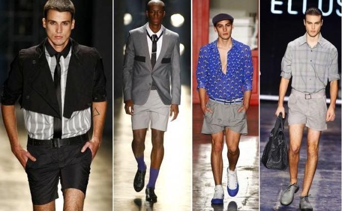 modelos de shorts masculinos