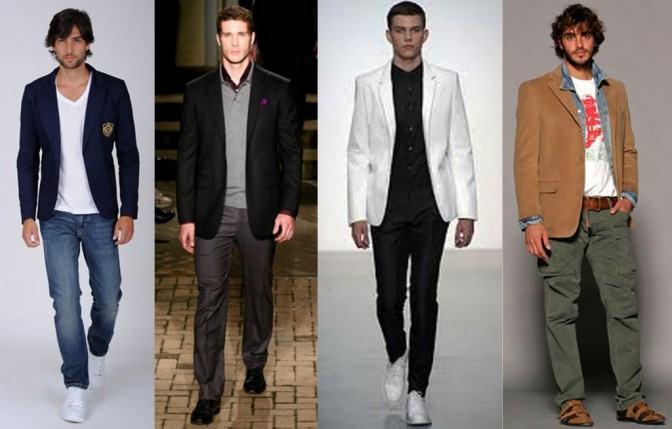 foto blazer masculino