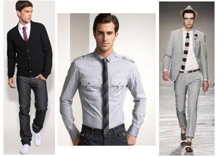 como usar gravata slim