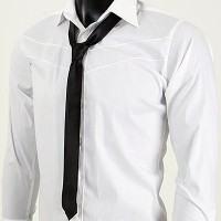 foto gravata preta slim fit