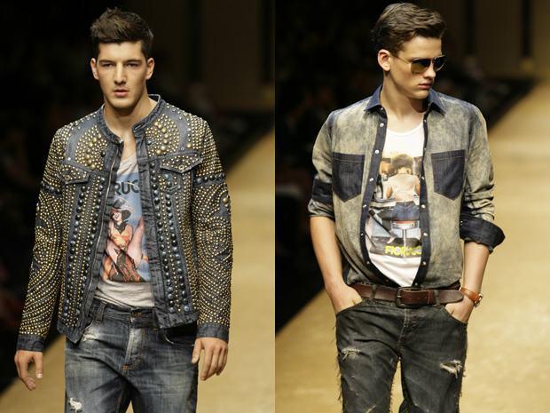 foto jeans com jeans masculino