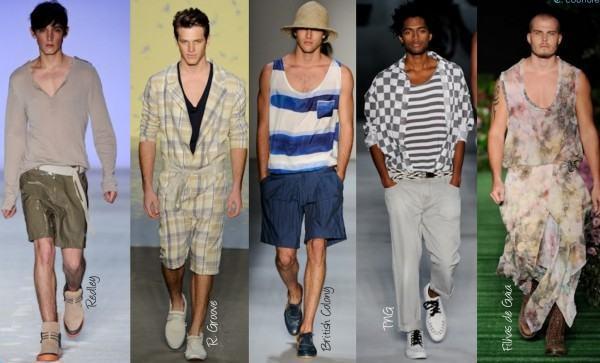 foto de modelos com decotes masculinos
