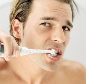 foto quando escovar os dentes