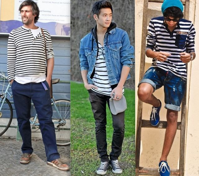 foto camisa listrada da moda 2012