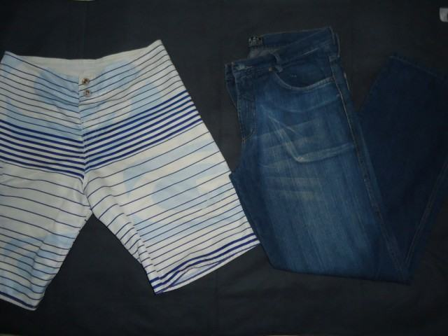 foto customizando calça jeans