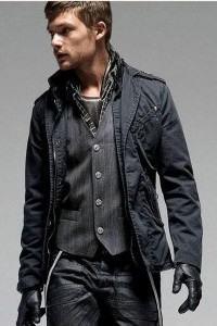 foto de jaqueta masculina jeans
