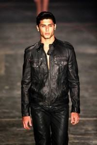 foto de jaqueta couro fake