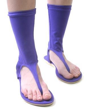 foto chinelo com meia