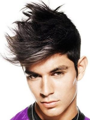 foto penteado topete