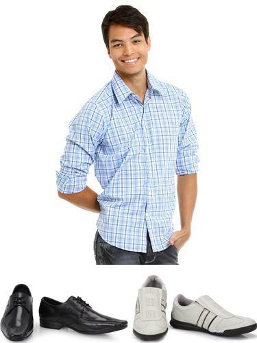 combinando camisa social com tênis