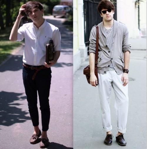foto calça chino masculina