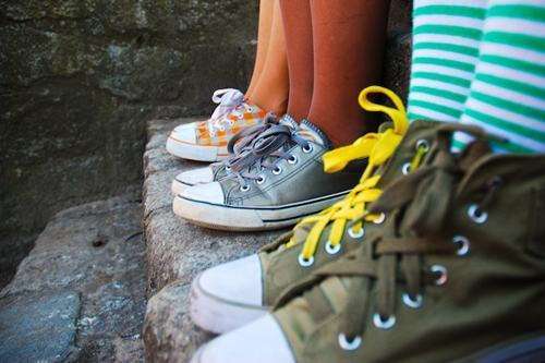 foto meias coloridas