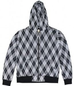 foto jaqueta estampa argyle