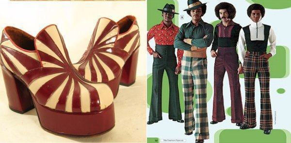foto sapato dos anos 70 masculino