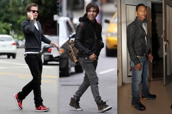 foto tênis da moda masculina