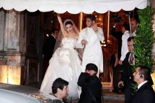foto terno branco casamento