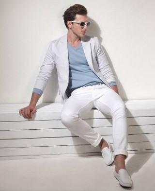 foto terno branco