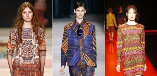 foto vestidos estampados na moda