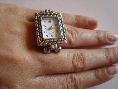 foto anel relógio
