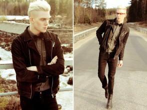 foto camisa black jeans