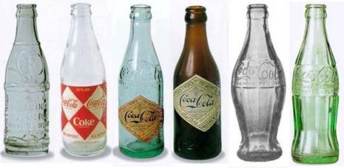 foto garrafa da coca cola de vidro