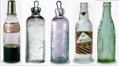 foto garrafas da coca cola de vidro