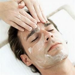 foto máscara facial masculina