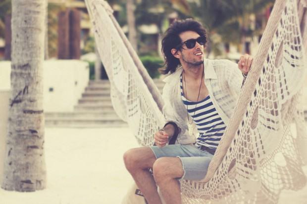 foto verão masculino
