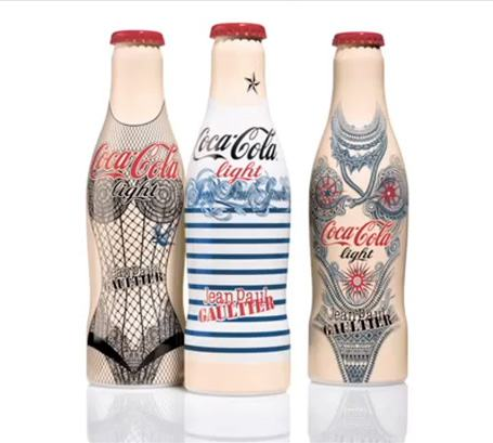 foto da nova garrafa coca cola