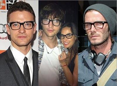 foto óculos geek