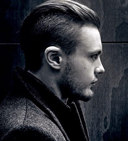 foto penteado para homem