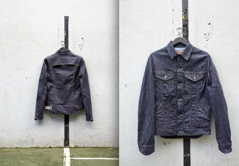 foto jaqueta da levi's para ciclismo